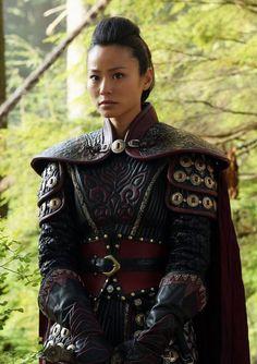 Mulan portrayed by Jamie Chung