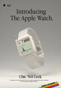 If the Apple Watch came out in the 1980s...