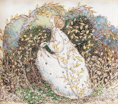 The Leafy Bower by Annie French (Scottish, 1872–1965)