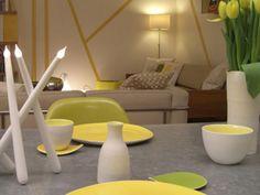 ligne jaune Floor Chair, Architecture, Curtains, Flooring, Rugs, Yellow, Terrier, Furniture, Home Decor