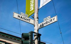 Haight Ashbury, San Francisco - The Hippie movement and Summer of ...