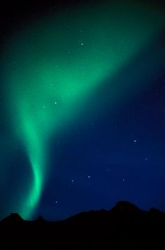 Northern lights, big dipper and north star in Alaska. Description from jeffpflueger.com. I searched for this on bing.com/images