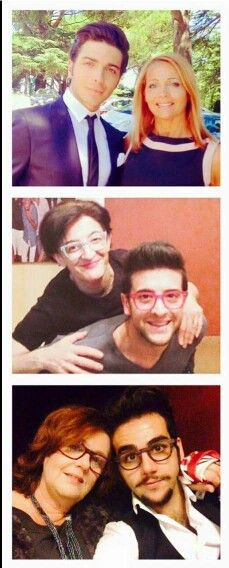 Il Volo and their mothers