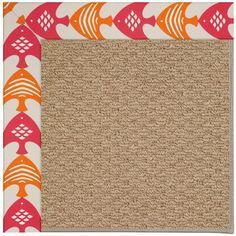 Capel Zoe Machine Tufted Autumn Area Rug Rug Size: 12' x 15'