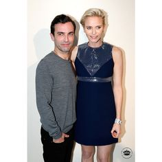 Talk about a fashionable hostess. Princess Charlene hosted designer Nicolas Ghesquière's second Louis Vuitton show in 2015 at the Royal Palace in Monaco.