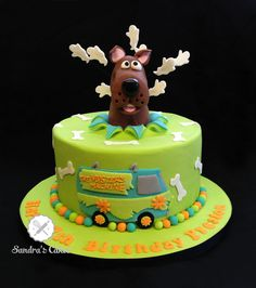 Scooby Doo Cake, Hunter's already asking to start planning his 8th birthday lol!!!
