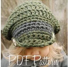 Crochet PATTERN-The Addyson Slouchy Toddler by Thevelvetacorn