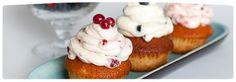Cupcakes de berries