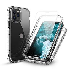 #FLOVEME #iPhone12ProMax Clear Case With #ScreenProtector