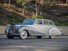 1950 Rolls Royce Silver Wraith saloon by Park Ward.