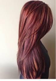 Resultado de imagen para balayage en cabello rojo