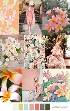 Pattern Curator delivers color, print and pattern trends and inspiration. Palettes Color, Colour Pallete, Colour Schemes, Color Trends, Color Patterns, Color Combinations, Print Patterns, Roberto Cavalli, Fashion Trends 2018