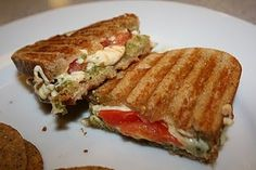 Vegan panini/ posted on her blog on  SUNDAY, SEPTEMBER 18, 2011 search older post to find it