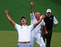 Masters golf 2013 - Adam Scott wins in playoff with Angel Cabrera (photos) | OregonLive.com