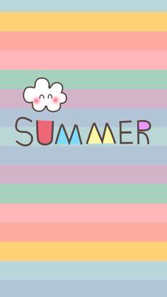 Summer rainbow iphone wallpaper