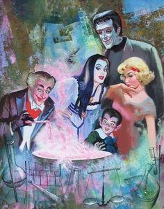 Frankensteinia: The Frankenstein Blog: The Art of The Munsters : Arnold Kohn