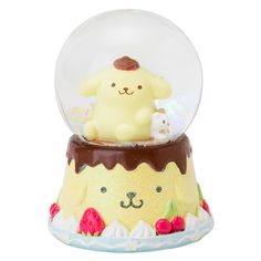 'Pom Pom Purin' snow globe, as courtesy of Sanrio Kawai Japan, Sanrio Danshi, Kawaii Bedroom, Pochacco, Kawaii Chibi, Kawaii Shop, Sanrio Characters, Rilakkuma, Cute Toys