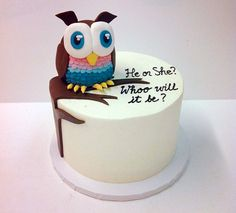 Trendy cake pops gender reveal 45 Ideas – Cake and food wedding Cake Designs For Girl, Cake Illustration, Frosting Tips, New Cake, Cake Board, Cupcake Cakes, Owl Cakes, Party, Sweets