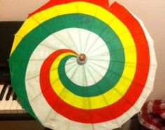 Popular items for rainbow parasol on Etsy