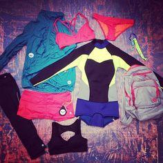 #LetTheSeaSetYouFree winner Katie McLean psyched to sweatin her new #ROXYOutdoorFitness gear