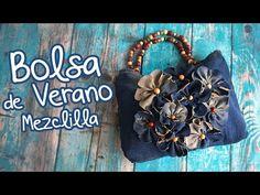 Bolsa de Verano con Mezclilla :: Chuladas Creativas - YouTube