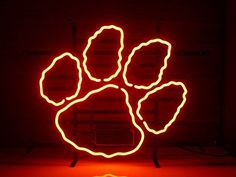 Clemson Tigers Neon Signs