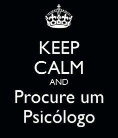 and procure um psicólogo