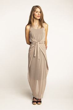 make something similar in a stretch chiffon to go over a simple sheath