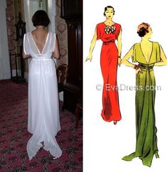 Ivory Silk, E30, Silk Crepe, Evening Gowns, Swatch, Wedding Gowns, Vogue, Patterns, Gallery