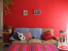 Casa Chaucha (plantas y el color de la pared)