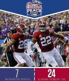 Peach Bowl Alabama Football