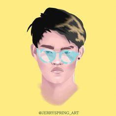 My Inspiration . Illustration Artists, Illustrations, Vector Portrait, Vector Graphics, Insta Art, Insta Saver, Squad, Vectors, Fanart