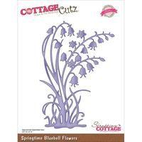 CottageCutz Elites Die - Springtime Bluebell Flowers