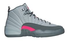 Another Look At The Air Jordan 12 GS Vivid Pink