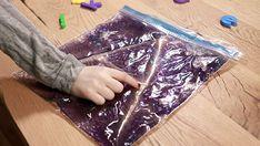 Try sensory freezer-bag writing