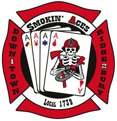 Smokin Aces Red and White A Shift