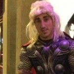 Happy Halloween From Brad Marchand
