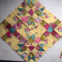 Quite a bit more to go but having fun along the way 9 Patch Quilt, Crazy Quilt Blocks, Strip Quilts, Panel Quilts, Scrappy Quilts, Mini Quilts, Quilt Square Patterns, Square Quilt, Quilting Designs