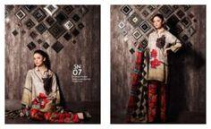 Buy Online Charizma Naranji Digital Fall-Winter Collection 2017   AN Fabrics