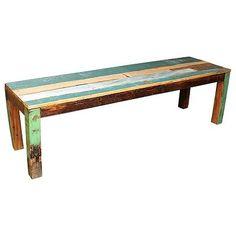 Bank sloophout meubels