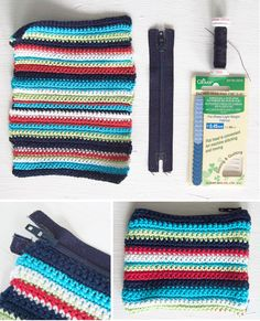 Crochet Mini Pouch - Tutorial