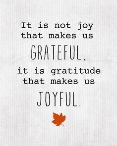 Beautiful: Gratitude is the Beginning
