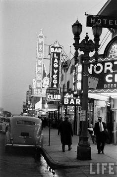 Las Vegas. (Peter Stackpole. 1942)