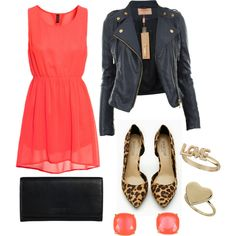 Edgy Chic - LOVE except the shoes