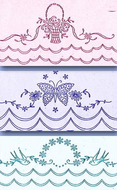 Crewel Embroidery Kits, Paper Embroidery, Embroidery Transfers, Learn Embroidery, Machine Embroidery Patterns, Silk Ribbon Embroidery, Hand Embroidery Designs, Vintage Embroidery, Hungarian Embroidery