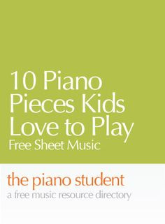 Nothing gets a child more interested in practicing than a great piece of music. This list of free piano sheet music for the second through third year student is all available online, and each one …
