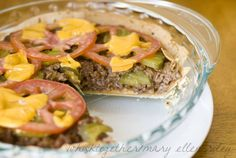 America's Test Kitchen Cheeseburger Pie  - Healthy, and tastes way better than it looks!