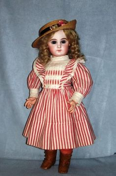"19.5"" Depose 9 by Jumeau ~ Lovely Transitional Bebe from faraway on Ruby Lane"
