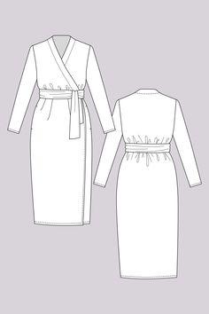 Pattern Reviews> Named Clothing> OLIVIA (OLIVIA JERSEY WRAP DRESS)