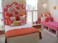 Robin Siegerman @Sieguzi   I could eat this room the colors are so yummy!